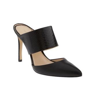 Banana Republic high heel slides size 8